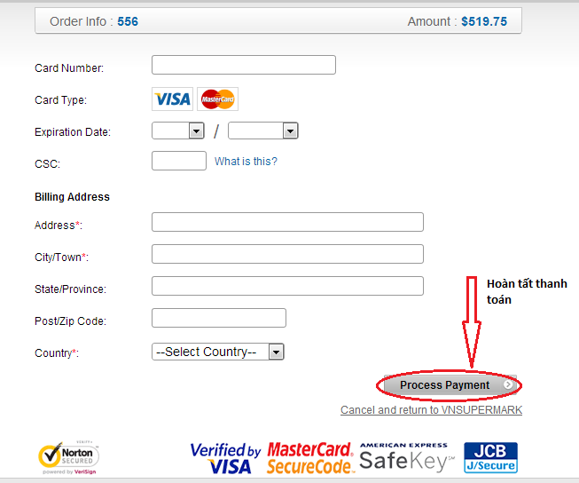 Mua thẻ game thanh toán bằng credit card và debit card h4