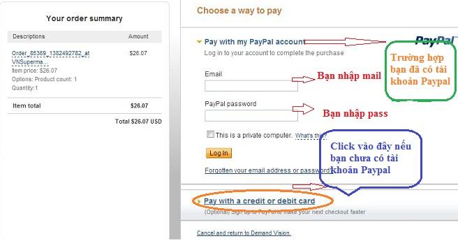 Mua thẻ game thanh toán bằng credit card và debit card h3