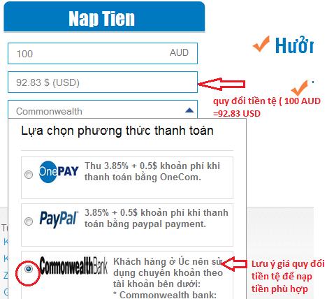 Ở Úc mua thẻ game online chiết khấu cao h2