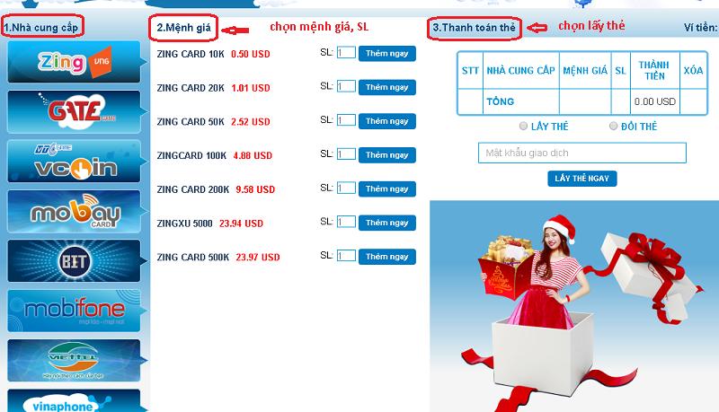 ảnh minh họa hướng dẫn mua thẻ zing online