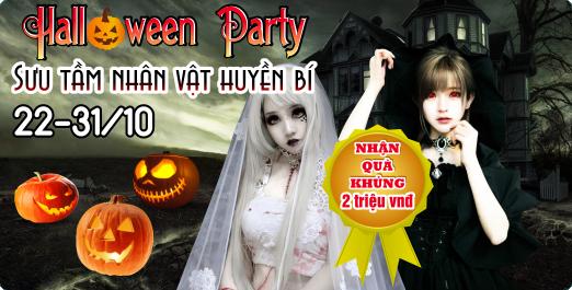 Halloween party- nhận quà khủng