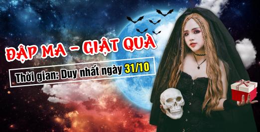 Event Halloween: Đập Ma - Giật Quà