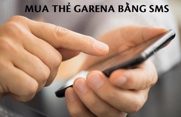 Cách mua thẻ garena bằng SMS Viettel