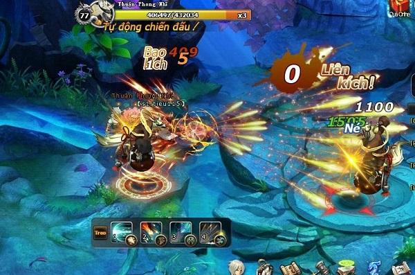 Đấu chiến thần làm các game thủ phát cuồng vì hệ thống PK hoàn hảo