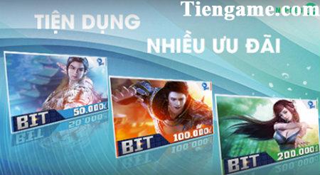 Mua Thẻ Bit Online – Nạp Tiền Game Online