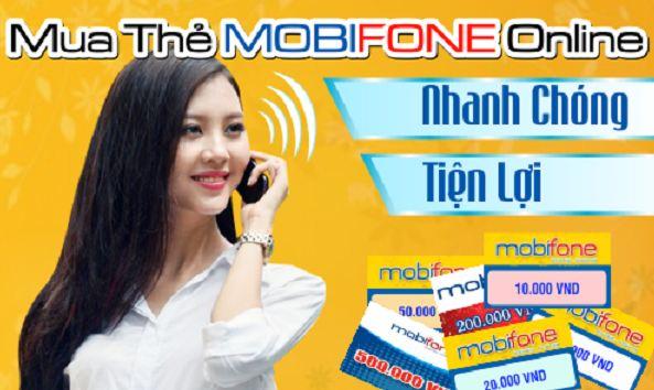 Hướng dẫn mua thẻ Mobifone online chiết khấu cao