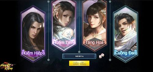 Huyết Kiếm – Game Online Mới Nhất Của VNG