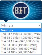 Mua BIT card online chua bao giờ lại nhanh chóng đến thế 1