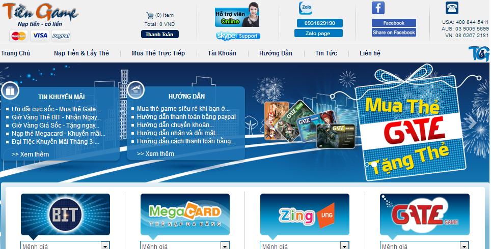 Mua card game online giá rẻ, nhanh chóng và an toàn