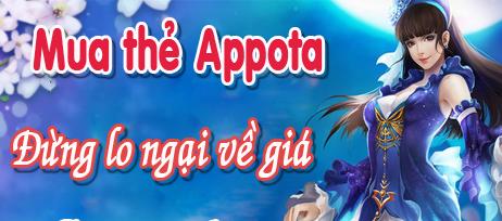 Cách nạp thẻ appota card cho game I am Naruto