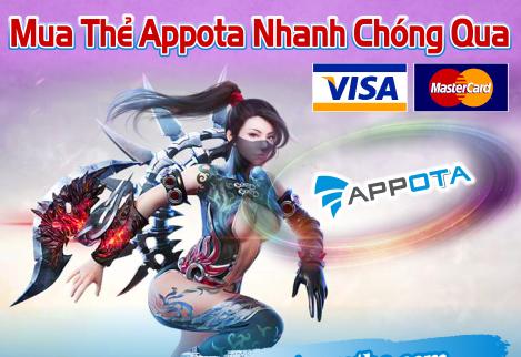 Mua thẻ appota trên tiengame.com – Thanh toán dễ dàng, tiện lợi
