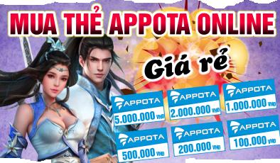 Nạp appota cho game Gamota cực nhanh, chỉ có tại tiengame.com