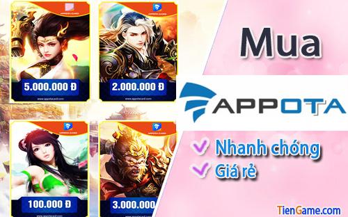 Ở Mỹ có mua thẻ appota để nạp game được không?