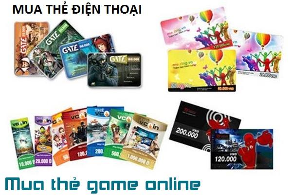 Mua thẻ game online thanh toán từ xa, không biết điều này là sai
