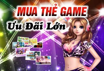 Mua thẻ game online chiết khấu cao, đa dạng các loại thẻ và mệnh giá