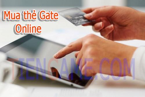 Đố bạn tại sao nên mua thẻ của nhà phát hành game Gate trên mạng