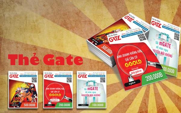 Mua Thẻ Gate Online Giá Rẻ Bằng Thẻ Visa Mastercard