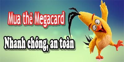 Mua thẻ Megacard online nhanh chóng, an toàn qua Paypal