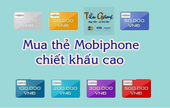Mua thẻ Mobiphone tại Canada chiết khấu cao