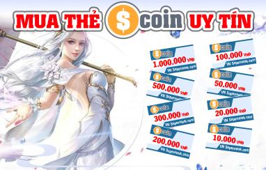 Cách mua thẻ scoin đơn giản không ngờ tại Tiengame.com