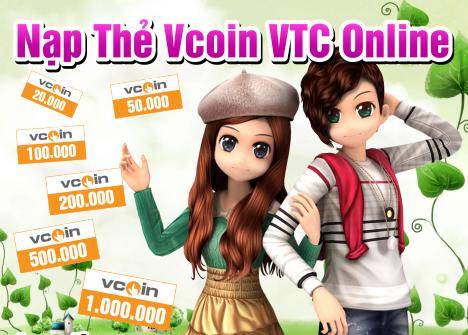 Mua thẻ nạp game VTC ở đâu uy tín nhất?