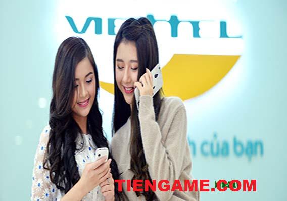Mua thẻ cào Viettel online - Nhận ngàn ưu đãi trên Tiengame.com