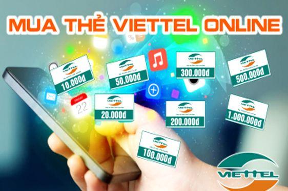 Hướng dẫn mua thẻ viettel online siêu đơn giản