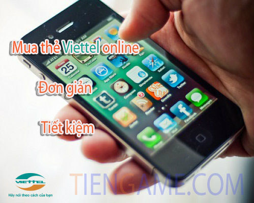 Cách mua thẻ điện thoại Viettel online siêu đơn giản và tiết kiệm