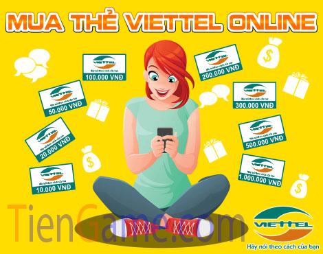 Cách mua thẻ Viettel online nhanh và rẻ nhất hiện nay