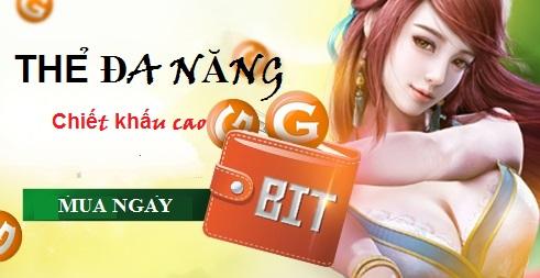 Thẻ Bit online - Lợi ích hấp dẫn khi mua ở Tiengame.com