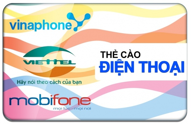 Mua thẻ điện thoại bằng hình thức nạp tiền lấy thẻ