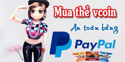 Cách Mua thẻ Vcoin Nhanh Chóng Bằng Paypal