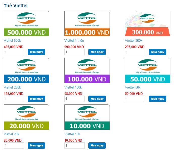 Hai Mặt Tiện Lợi Khi Mua Thẻ Viettel Online Nạp Game 2