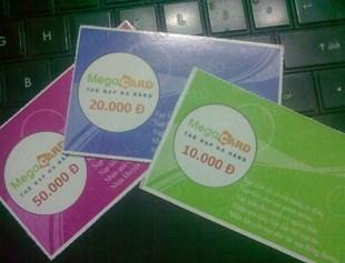 """Thẻ Megacard, Thẻ Cào """"Tất Cả Trong Một"""" Hot Nhất Hiện Nay h1"""