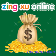 Mua zing xu online thanh toán an toàn ở  Tiengame.com