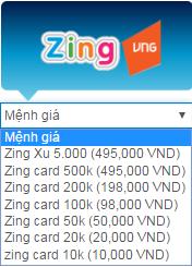 Mua thẻ zing Việt nam khi đang sống ở nước ngoài h1
