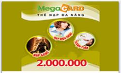 Thẻ MegaCard 2 triệu