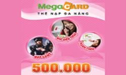 Thẻ MegaCard 500k