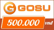 Thẻ GOSU 500k