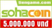 Thẻ SohaCoin 5 triệu