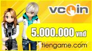 Thẻ Vcoin 5 triệu