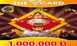 Thẻ Vcard 1 triệu