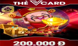 Thẻ vcard 200k