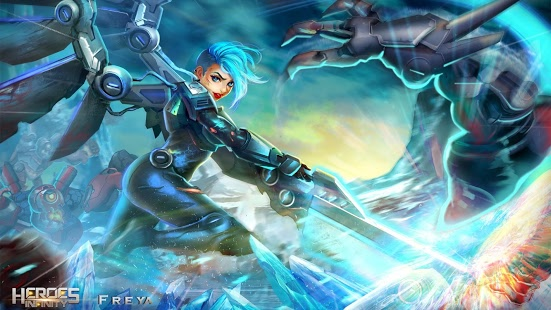 Độc đáo game nhập vai Heroes Infinity 1