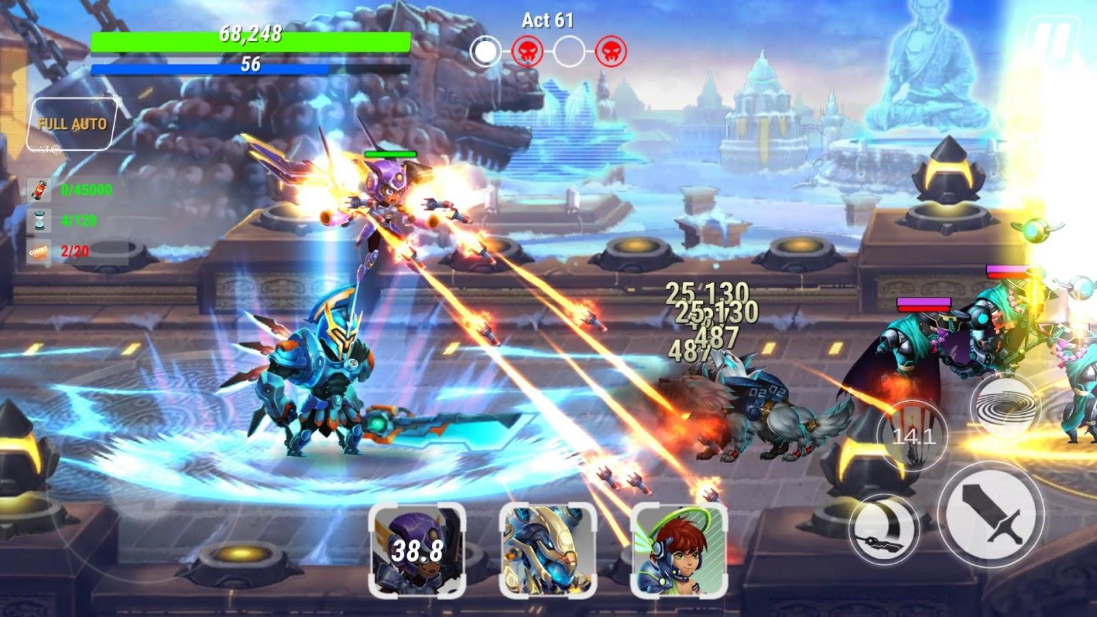 Độc đáo game nhập vai Heroes Infinity 2