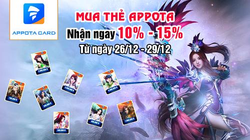 Mua thẻ Appota - nhận ngay 10-15% 1