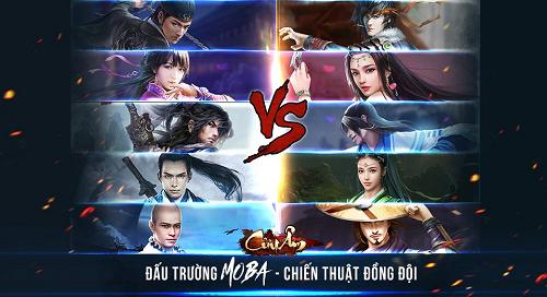 Khám phá tính năng MOBA trong game kiếm hiệp