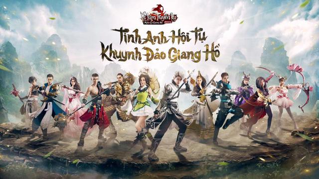 Nạp thẻ zing online cho Võ Lâm Truyền Kỳ Mobile