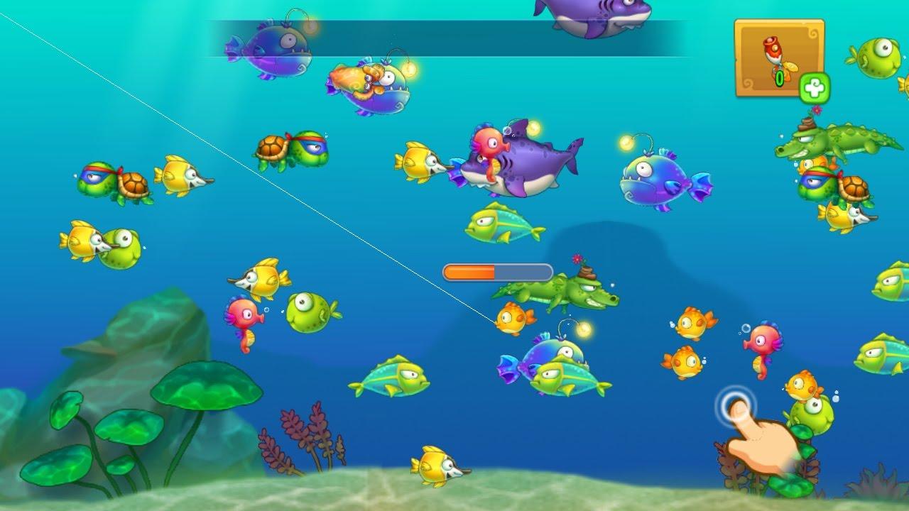 Tìm hiểu tính năng câu cá trong Khu Vườn Trên Mây h2