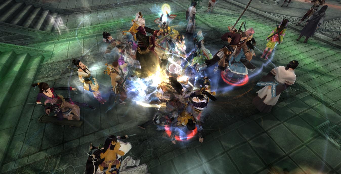 Gói gọn 100 người chơi trong một server với Cửu âm chân kinh 2